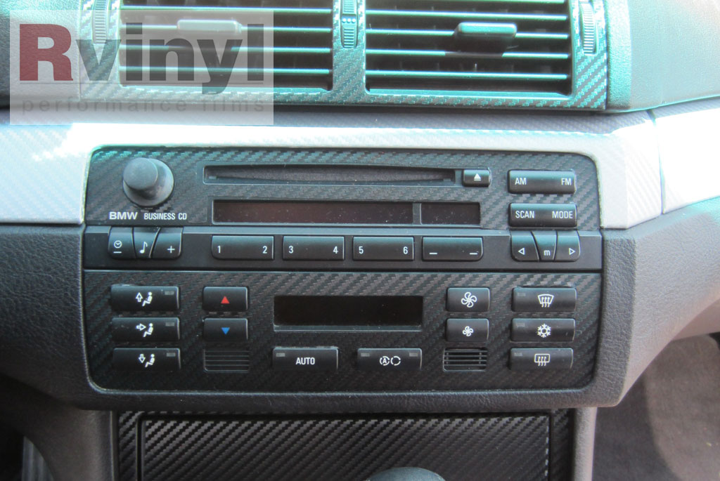 Dash Kit Decal Auto Interior Trim For Bmw 3 Series E46 M3