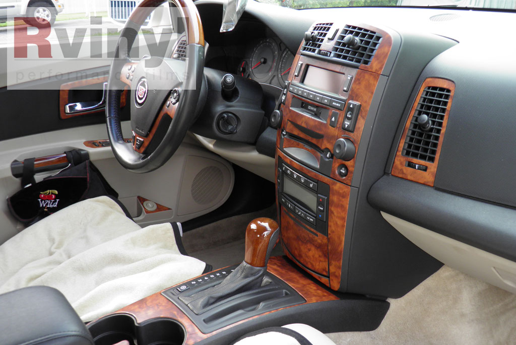 dash kit decal auto interior trim cadillac cts cts v 2003 2007 ebay. Black Bedroom Furniture Sets. Home Design Ideas