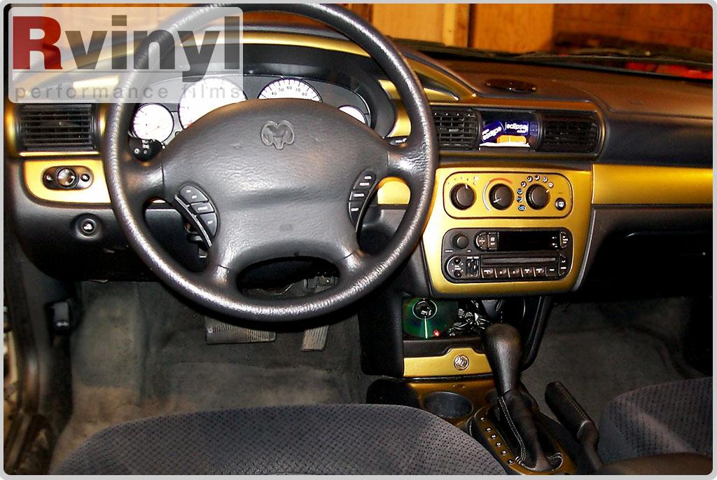Dash Kit Decal Auto Interior Trim Chrysler Sebring    Stratus Sedan 2001