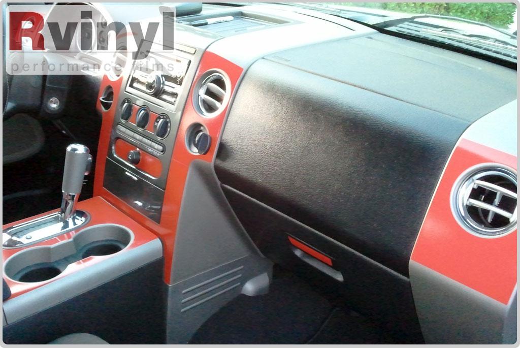 Dash kit decal auto interior trim for ford f 150 2004 2008 - 2013 ford f 150 interior accessories ...