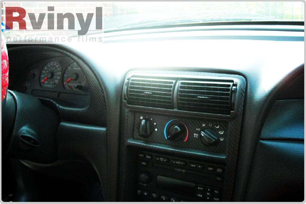 Dash Kit Decal Auto Interior Trim For Ford Mustang 2001 2004