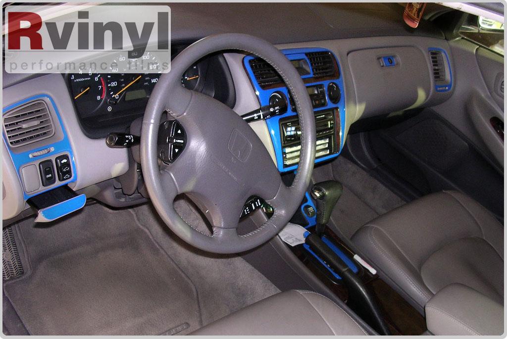 Dash kit decal auto interior trim for honda accord 1998 2000 ebay for 1998 honda civic interior parts