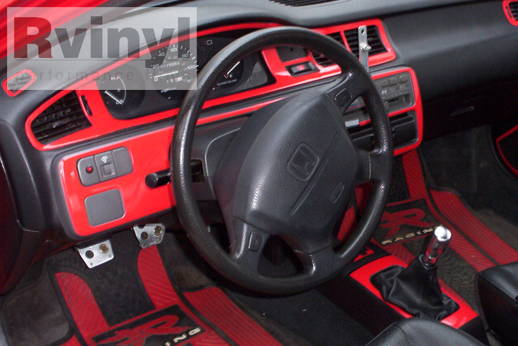 Dash Kit Decal Auto Interior Trim For Honda Civic 1992 1995 Ebay
