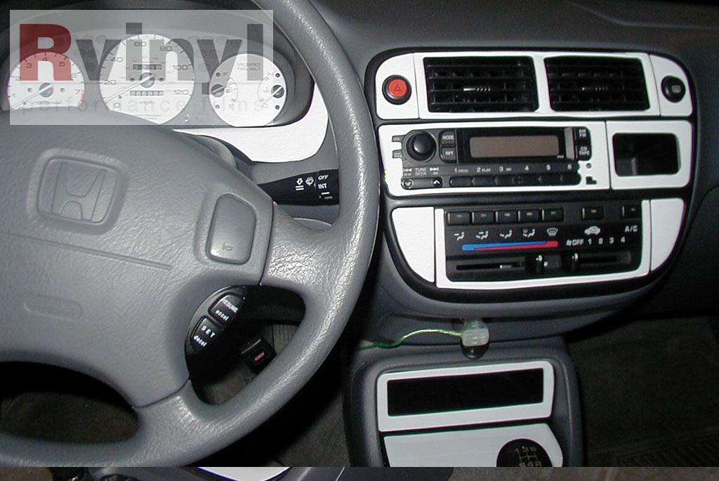 dash kit decal auto interior trim for honda civic 1996 1998. Black Bedroom Furniture Sets. Home Design Ideas
