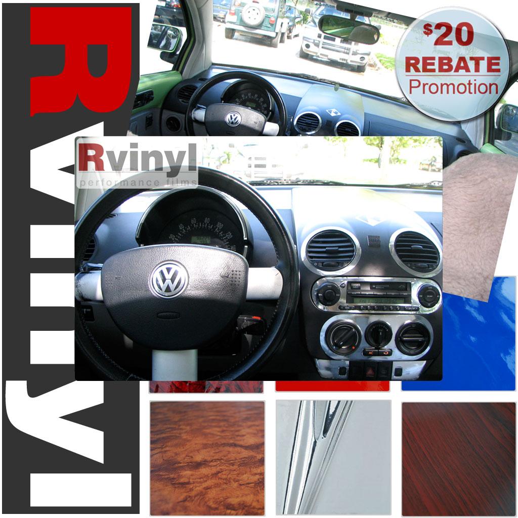 Dash Kit Decal Auto Interior Trim For Volkswagen Beetle 1998