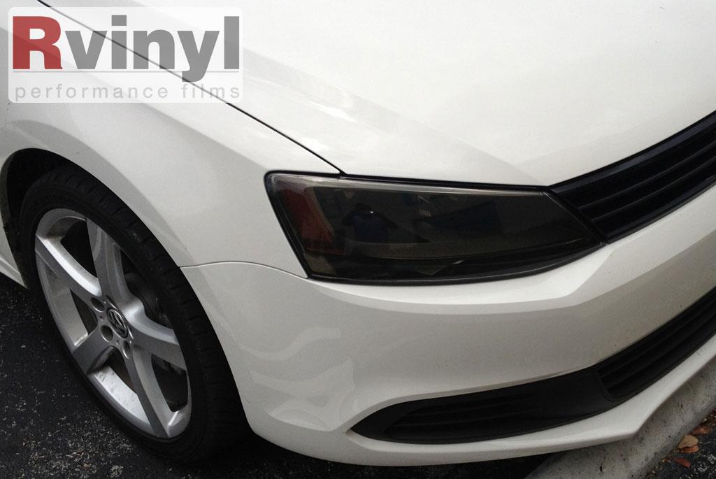 Pro Precut Smoke Headlight Tint Film Kit Volkswagen Jetta Sedan 2011-2014 | eBay