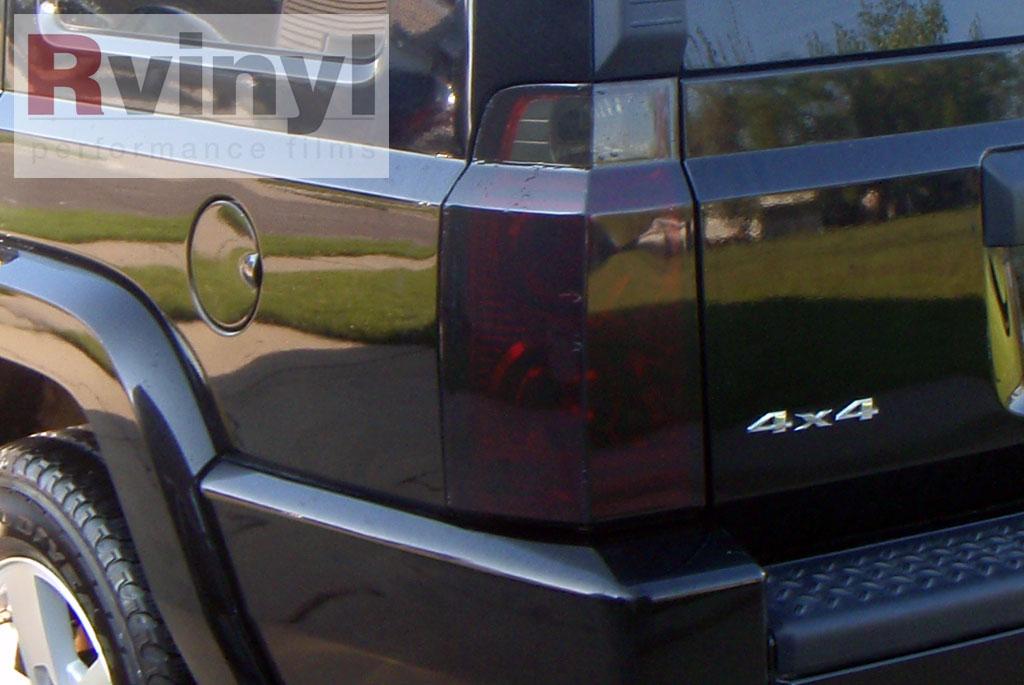 Pro Precut Smoke Taillight Tint Film Kit Jeep Commander ...