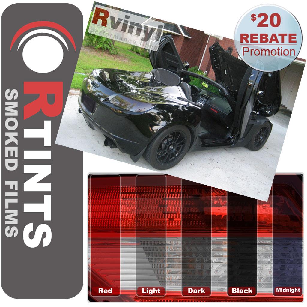 Saturn Sky Tail Light Replacementpro Precut Smoke Taillight Tint Wiring Diagram Skytail Pro Film Kit 2005