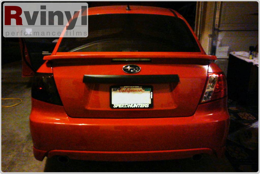 Pro Precut Smoke Taillight Tint Film Kit Subaru Impreza