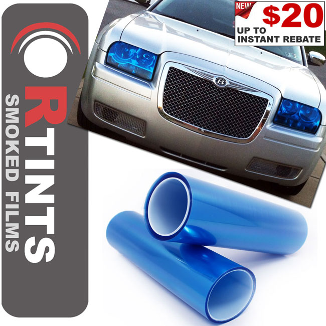 Blue Smoke Tint Film Blue tint, Blue film, Blue vinyl, Blue wrap, Blue headlight, Blue tail light, Blue fog light