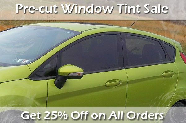 25% Off All Window Tint Kits